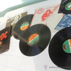 Discos de vinilo: ACDC LP VINYL HIGH VOLTAGE/DIRTY DEEDS DONE DIRT CHEAP/POWERAGE + SINGLE EDIT. GERMANY 1980 AC/DC. Lote 35274340