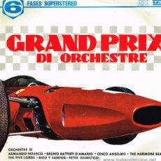 Discos de vinilo: THE FIVE LORDS / PETER HAMILTON / CESCO ANSELMO, ETC - GRAN PRIX DE ORCHESTRE - LP 1968 - ESPAÑA. Lote 35328837