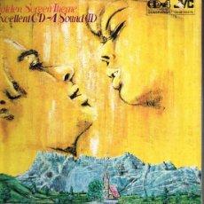 Discos de vinilo: VICTOR CD-4 SOUND ORCHESTRA - GOLDEN SCREEN THEME - LP 1973. Lote 35329006