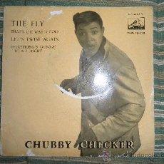 Discos de vinilo: CHUBBY CHECKER E.P. - THE FLY - ORIGINAL ESPAÑA - LA VOZ DE SU AMO 1962 - MONO -. Lote 35332125