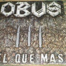 Discos de vinilo: OBUS SINGLE - EL QUE MAS - DISCO PROMOCIONAL -ORIGINAL ESPAÑA CHAPA DISCOS 1984 - MUY NUEVO (5). Lote 35334055