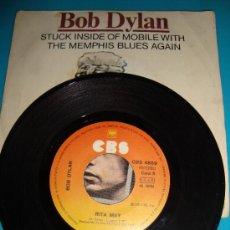 Discos de vinilo: DISCO DE VINILO BOB DILAN ESPAÑA DISCOS CBS S. A. MADRID AÑO 1977, RITA MAY. Lote 36003301