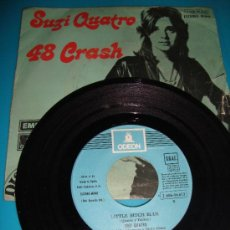 Discos de vinilo: SUZI QUATRO, 48 CRASH ODEON. Lote 36003965