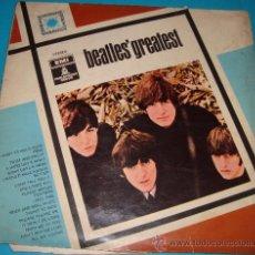 Discos de vinilo: BEATLES GREATEST, PARLOPHONE, STEREO, ODEON. Lote 36130582