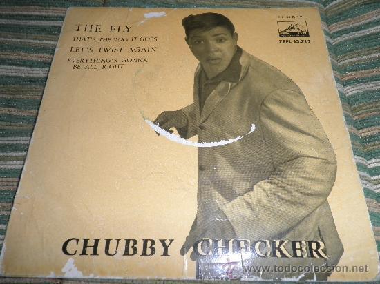 Discos de vinilo: CHUBBY CHECKER E.P. - THE FLY - ORIGINAL ESPAÑA - LA VOZ DE SU AMO 1962 - MONO - - Foto 6 - 35332125