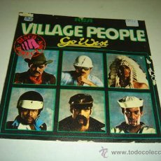 Discos de vinilo: SINGLE VILLAGE PEOPLE GO WEST. Lote 35322641