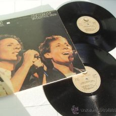 Discos de vinilo: SIMON AND GARFUNKEL 2 LP THE CONCERT IN CENTRAL PARK MADE IN SPAIN 1982. Lote 35323057