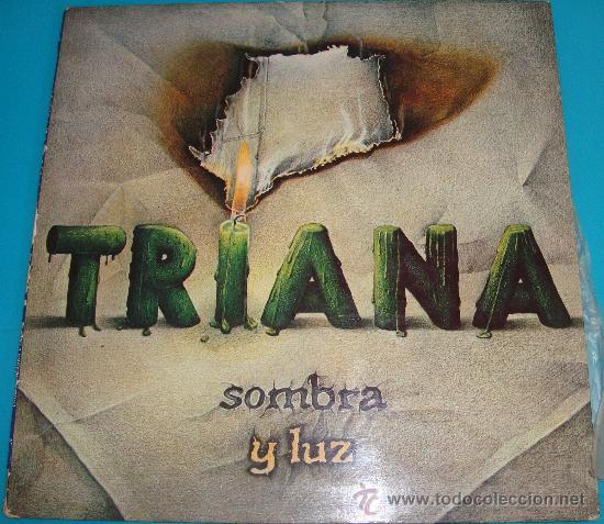 LP TRIANA SOMBRA Y LUZ PRODUCCION MOVIE PLAY SERIE GONG 1979, PORTADA DOBLE DE MAXIMO MORENO (Música - Discos - Singles Vinilo - Grupos Españoles de los 70 y 80)