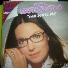 Discos de vinilo: NANA MOUSKOURI / C`EST BON LA VIE DOBLE LP FONTANA FRANCE PEPETO. Lote 35332556