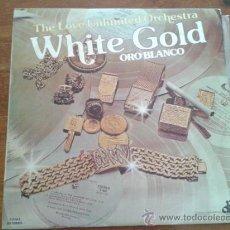 Discos de vinilo: THE LOVE UNLIMITED ORCHESTRA - BARRY WHITE ' WHITE GOLD ' 1974-ESPAÑA . Lote 35361424