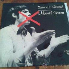 Discos de vinilo: MANUEL GERENA - CANTO A LA LIBERTAD OLYMPO L-460 - 1977. Lote 35362474