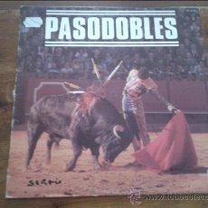 Discos de vinilo: PASODOBLES TOREROS 1967 HISPAVOX SA. Lote 35363980