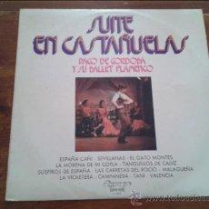 Discos de vinilo: SUITE EN CASTAÑUELAS - PACO DE CORDOBA Y SU BALLET FLAMENCO- 1973. Lote 35364147