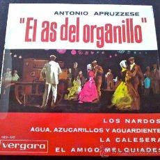 Discos de vinilo: ANTONIO APRUZZESE, EL AS DEL ORGANILLO - LOS NARDOS, ETC.. Lote 35338988