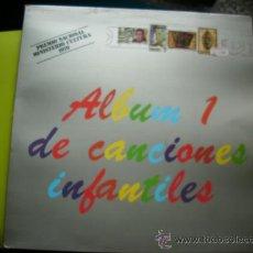 Discos de vinilo: ALBUM 1 DE CANCIONES INFANTILES /PREMIO NACIONAL DE CULTURA 1979/LP PEPETO. Lote 35394136