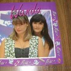 Discos de vinilo: WANDA - MAS, MAS, MAS. Lote 35371822