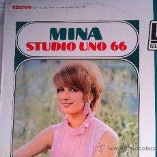 Discos de vinilo: LP MINA-STUDIO UNO 66-USA. Lote 35375667