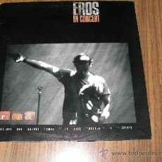 Discos de vinilo: EROS RAMAZZOTTI - IN CONCERT. Lote 113974131