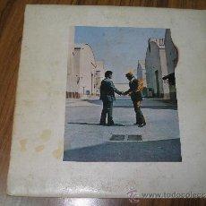 Discos de vinilo: PINK FLOYD - WISH YOU WERE HERE. Lote 35377314