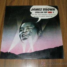 Discos de vinilo: JAMES BROWN - SOUL ON TOP. Lote 35378442