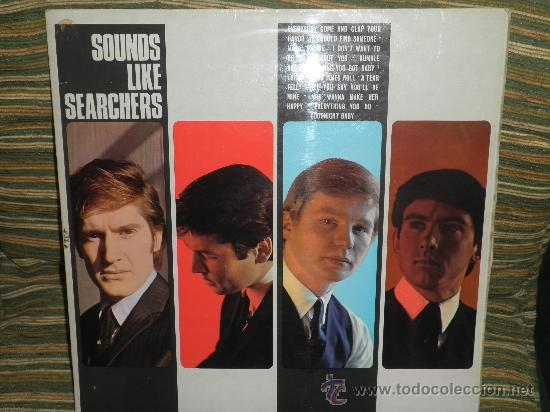 Discos de vinilo: THE SEARCHERS - SOUNDS LIKE SEARCHERS LP- ORIGINAL INGLES - PYE RECORDS 1965 - MONO - - Foto 20 - 35390767