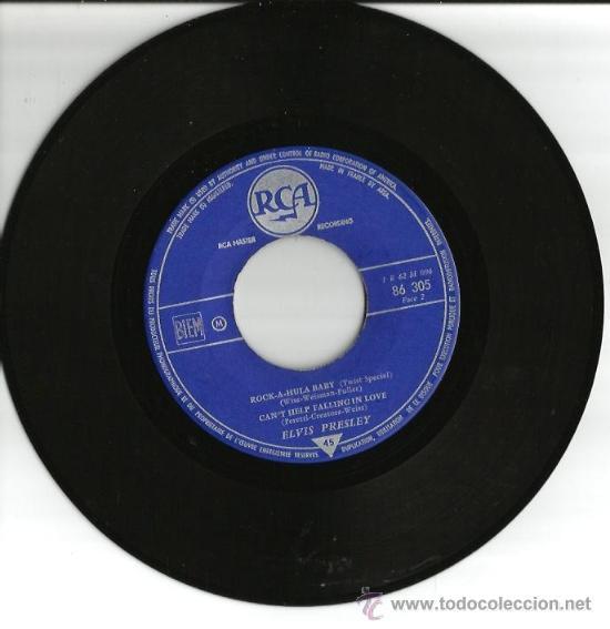 Discos de vinilo: EP ELVIS PRESLEY - NO MORE ( LA PALOMA ) + 3 - Foto 4 - 25060425