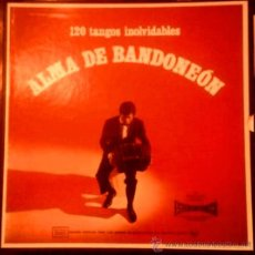 Discos de vinilo: CAJA DE 11 LPS ALMA DE BANDONEÓN AÑO 1968 EDICIÓN ARGENTINA. Lote 35386165