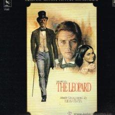 Discos de vinilo: THE LEOPARD - ORGINAL MOTION PICTURE SOUNDTRACK - LP 1983. Lote 35398913