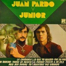 Discos de vinilo: JUAN PARDO Y JUNIOR - LP MUY RARO DE VINILO - COMPARTIDO. Lote 35399730