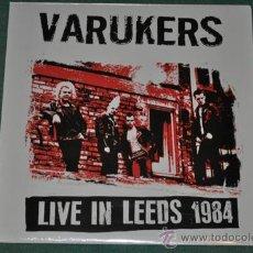 Discos de vinilo: VARUKERS - LIVE IN LEEDS 1984 (NUEVO). Lote 35407231