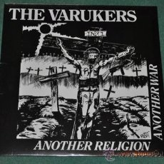 Discos de vinilo: THE VARUKERS - ANOTHER RELIGION ANOTHER WAR (NUEVO). Lote 35407252