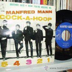 Discos de vinilo: MANFRED MANN EP COCK-A-HOOP + 3 MUY RARO R&B JAZZ SPAIN. Lote 35413264