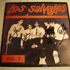 Discos de vinilo: LOS SALVAJES - VOL.1 - LP - AUTOGRAFIADO. Lote 35519022