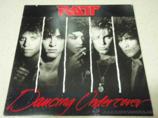 RATT ( DANCING UNDERCOVER ) NEW YORK - USA 1986 LP33 ATLANTIC (Música - Discos - LP Vinilo - Heavy - Metal)
