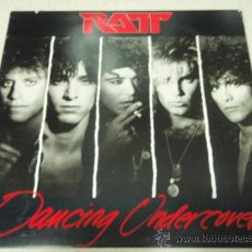 Discos de vinilo: RATT ( DANCING UNDERCOVER ) NEW YORK - USA 1986 LP33 ATLANTIC. Lote 144399269