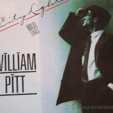 Disques de vinyle: WILLIAN PITT,CITY LIGHTS DEL 86. Lote 148952724