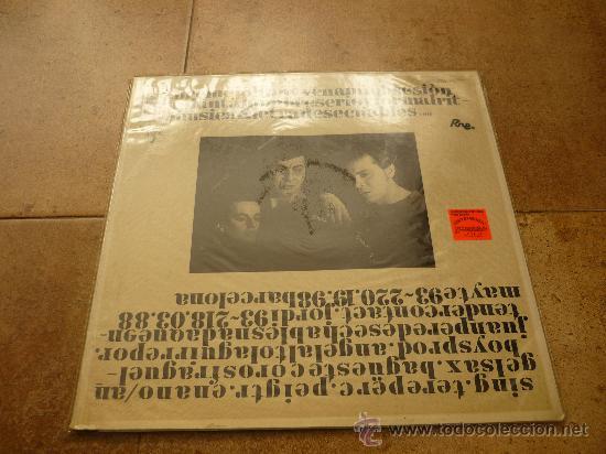 Discos de vinilo: DESECHABLES - NADA QUE ENTENDER - LP - RNE 1987 N3-10003-PR - ORIGINAL - Foto 2 - 35428400