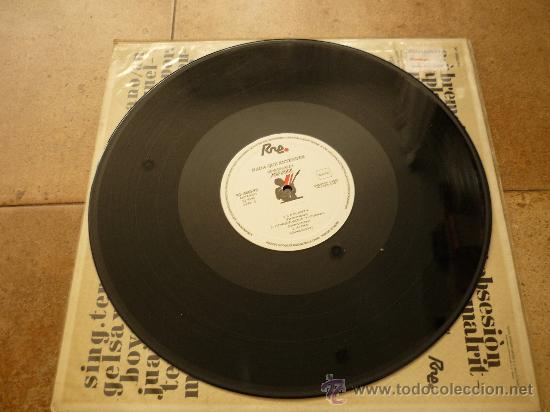 Discos de vinilo: DESECHABLES - NADA QUE ENTENDER - LP - RNE 1987 N3-10003-PR - ORIGINAL - Foto 3 - 35428400