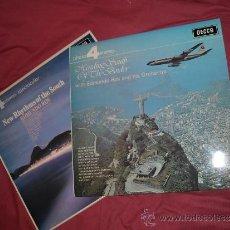 Discos de vinilo: EDMUNDO ROS 2 LPS DECCA 4 1964 Y 1970 PHASE VER FOPTO ADICIONAL. Lote 35437480