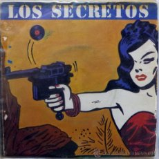 Discos de vinilo: LOS SECRETOS. NO ME IMAGINO (VOCAL/ INSTRUMENTAL). POLYDOR, ESP. 1983 SINGLE VINILO 7. Lote 35446219
