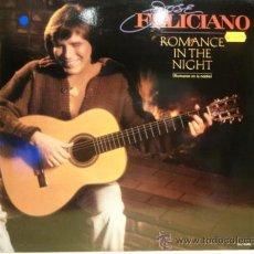 Discos de vinilo: JOSÉ FELICIANO. ROMANCE IN THE NIGHT. LP/ MOTOWN - 1983. LETRAS. BUENA CALIDAD.. ***/****. Lote 35454630