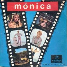 Discos de vinil: MONICA - MONICA STOP + 3 (EP DE 4 CANCIONES) COLUMBIA 1967 - EX/EX. Lote 35467515