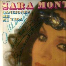 Discos de vinilo: DOBLE LP SARA MONTIEL - CANCIONES DE MI VIDA (FIRMADO POR LA ARTISTA ) . Lote 35484124