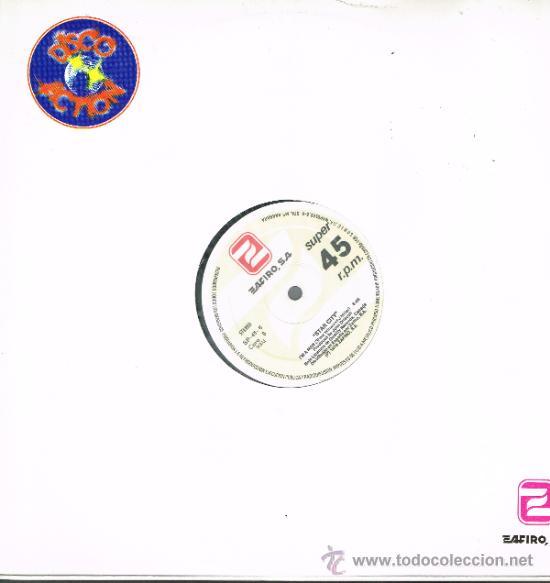 CHOCOLAT'S / STAR CITY - SEÑORITA POR FAVOR / I'M A MAN - MAXISINGLE 1979 - PROMO (Música - Discos de Vinilo - Maxi Singles - Pop - Rock Internacional de los 70)
