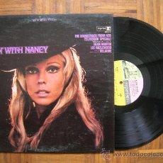 Discos de vinilo: NANCY SINATRA - MOVIN WITH - 5º LP ORIGINAL USA 1967 - CARPETA VG+ VINILO VG+. Lote 35493697