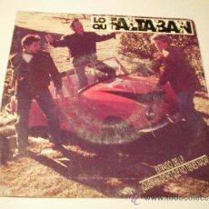 Discos de vinilo: LOS QUE FALTABAN. SINGLE 1991. SANNI RECORDS. Lote 37754597