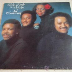 Discos de vinilo: GLADYS KNIGHT & THE PIPS ( SECOND ANNIVERSARY ) ENGLAND-1975 LP33 BUDDAH RECORDS. Lote 35508208