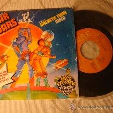Discos de vinilo: ANTIGUO DISCO SINGLE, STAR WARS TEMA DE LA GUERRA DE LAS GALAXIAS, AÑO 1977. . Lote 35516762