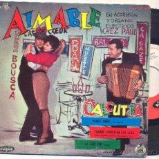 Discos de vinilo: EP AIMABLE: CALCUTTA + VAMOS, NIÑOS + LA TAXI GIRL +1. Lote 35520291