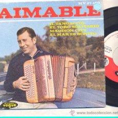 Discos de vinilo: EP AIMABLE: EL TANGACCIO + EL TORO SOLITARIO + MADISON CITY +1. Lote 35520342